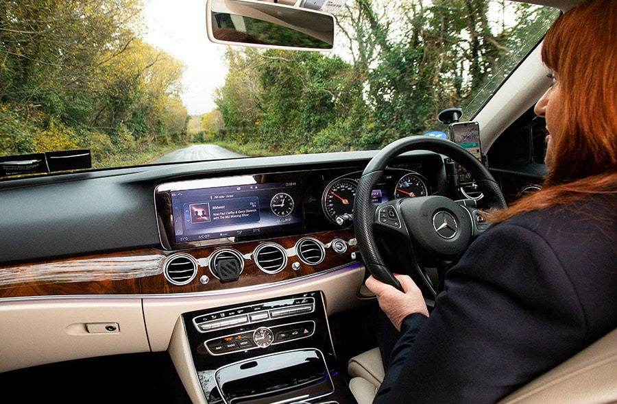 Tour Ireland Chauffeur Drive Mercedes Fleet